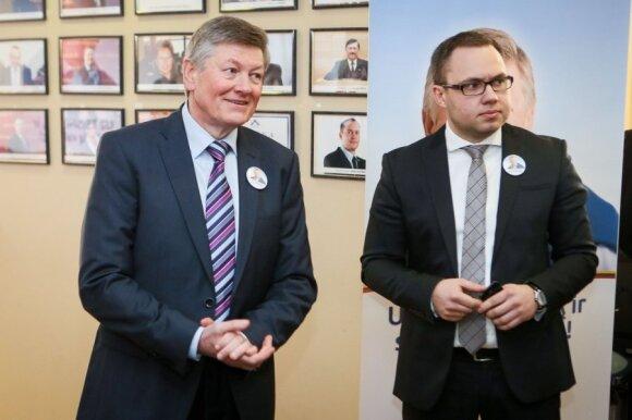 Artūras Paulauskas ir Viktoras Fiodorovas