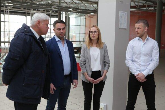 Klaipėdos meras Vytautas Grubliauskas lankėsi galingiausioje Baltijos šalyse kriptovaliutų kasykloje