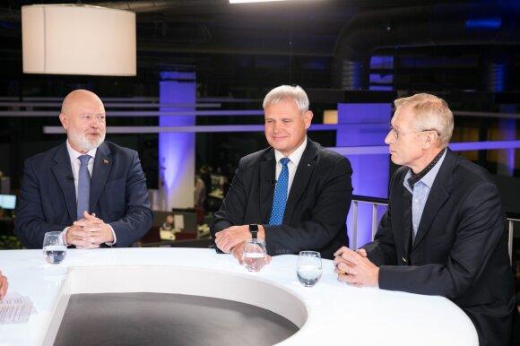 Eugenijus Gentvilas, Vytautas Grubliauskas, Algis Kašėta