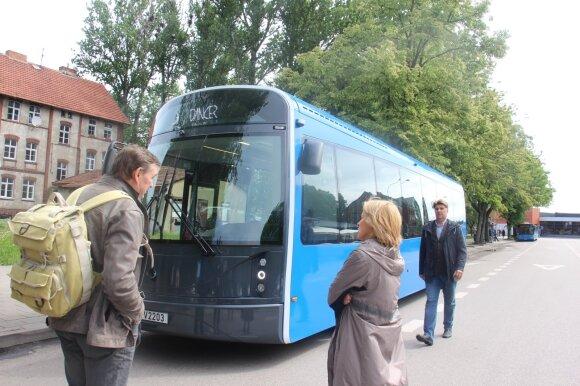 Klaipėdiečiai sukūrė elektrinį autobusą: pirmosios kelionės – jau netrukus