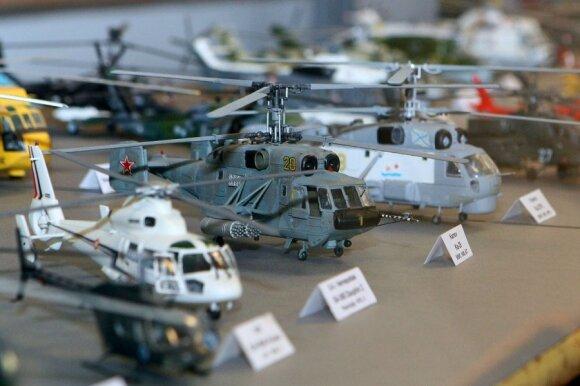 Lietuvos aviacijos muziejuje - orlaivių modelių paroda