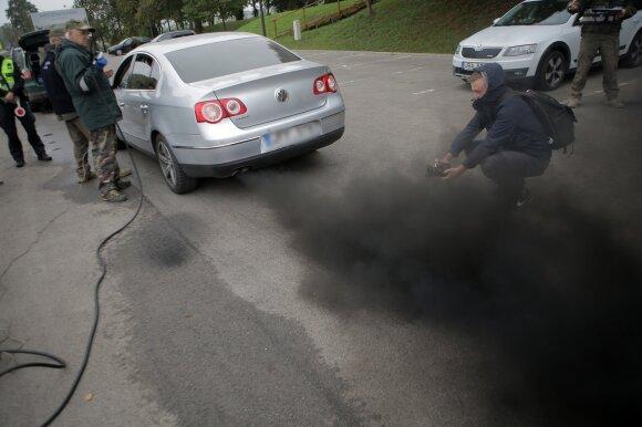 Automobilio taršos matavimas
