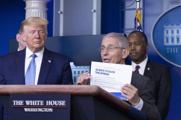 Donaldas Trumpas, Anthony Fauci
