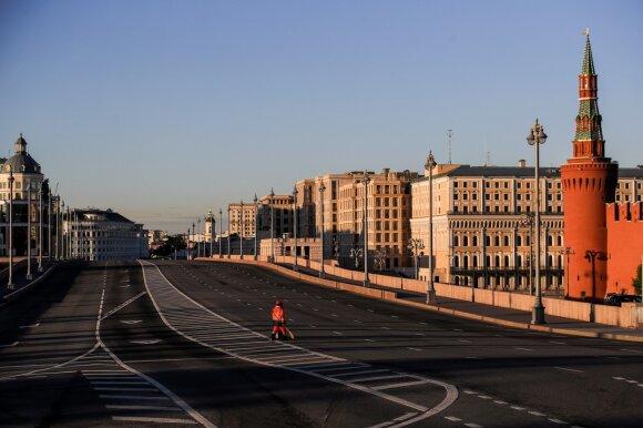 Apžvalgininkė: koronavirusas padidino Putino įtaką ekonomikai, bet ilgainiui gresia sąstingis