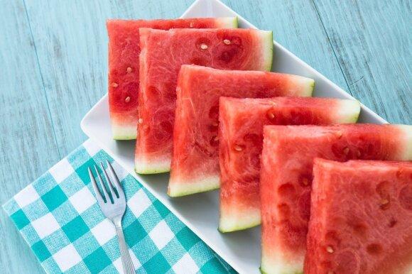 Tarp internautų populiarėja arbūzų dieta: gydytoja papasakojo, kokie bus rezultatai