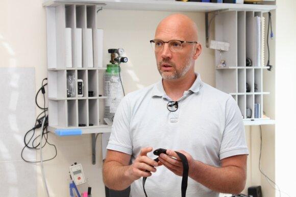 LSU mokslininkas Marius Brazaitis. LSU nuotr.