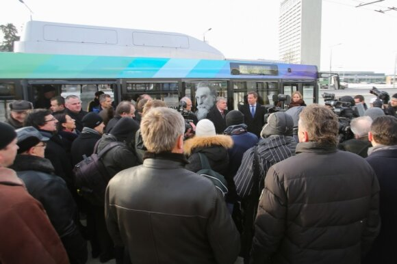 Susipažinkite: nauji Vilniaus autobusai