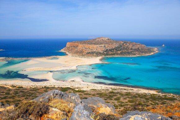 Balos paplūdimys, Kreta