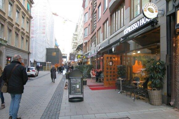 Kainos Švedijos kavinėse ir restoranuose