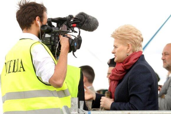 BBC komanda kuria filmą apie Dalią Grybauskaitę