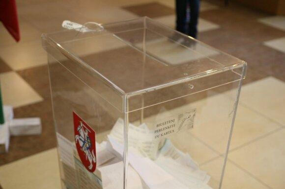 Rinkimų rezultatai: krito ne tik milžinai