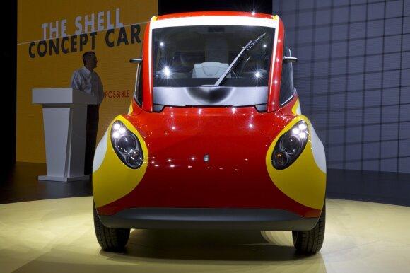 """""""Shell"""" pristatė savo automobilį"""