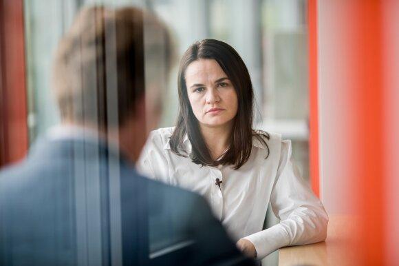 """Светлана Тихановская в интервью Delfi: """"Мы ждем, точнее - мы пока ждем"""""""