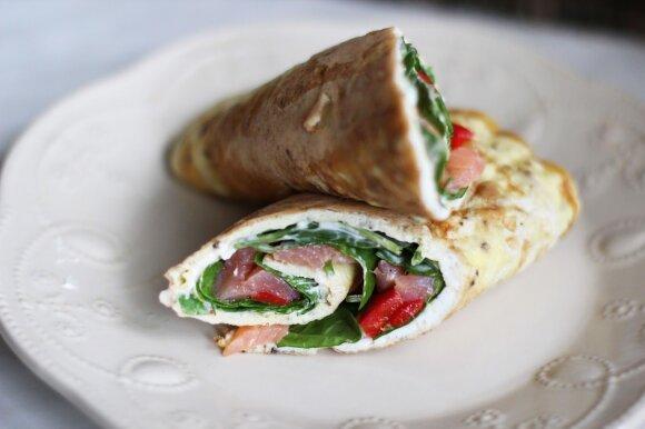 Gardusis omleto suktinukas