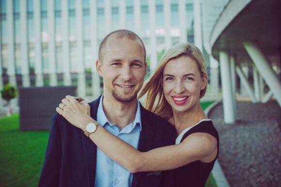 Kamilė ir jos vyras Nerijus