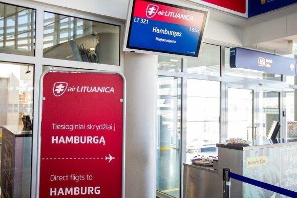 """""""Air Lituanica"""" stabdo skrydžius"""