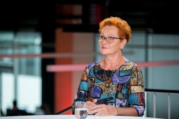 Oželytė: aš negirdžiu nė žodžio apie juodžiausią Lietuvos problemą