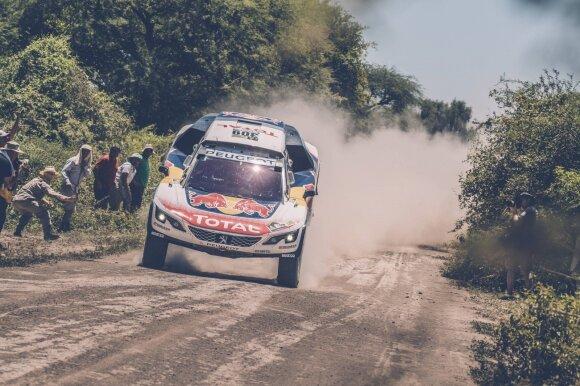 """""""Peugeot"""" bolidas šiemet buvo greičiausias"""