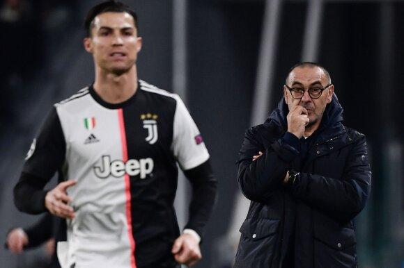 Cristiano Ronaldo, Maurizio Sarri