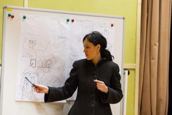 Aplinkosaugos ekspertė L. Šleinotaitė-Budrienė