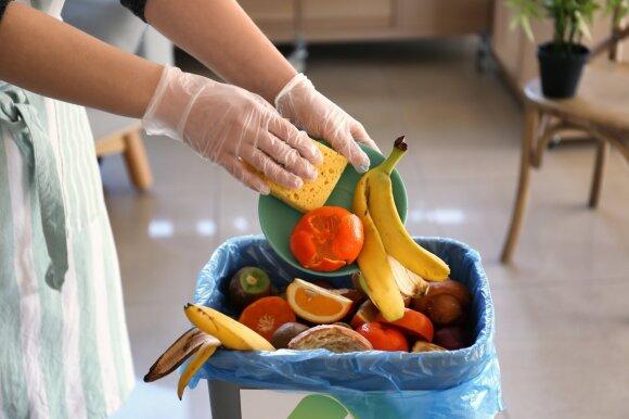 Maisto švaistymas – pasaulinė problema