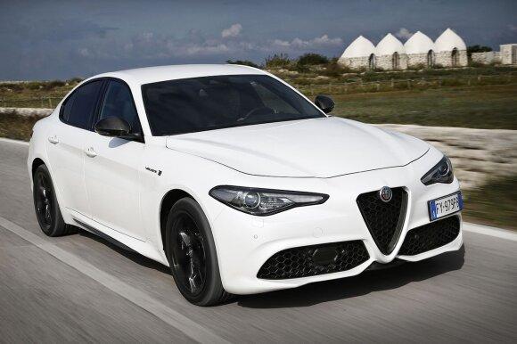 """""""Alfa Rome"""" įdiegė daliai modelių autonominio valdymo sistemas"""