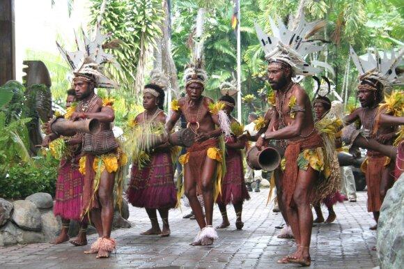 Dalios Bastytės viešnagė Papua Naujojoje Gvinėjoje