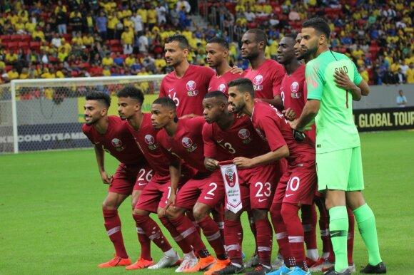 Kataro futbolo rinktinė