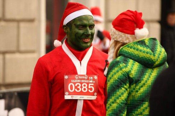 Grinčas kalėdiniame bėgime
