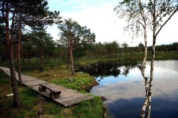 Kakuižės ežero takas