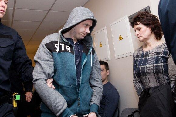 Viktor Bocevič ir nužudytojo motina Ana Zdanovič