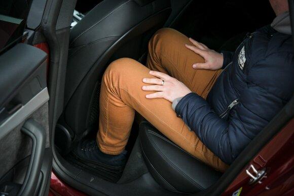 """Audi A5 Sportback"" gale erdvė gana ribota"