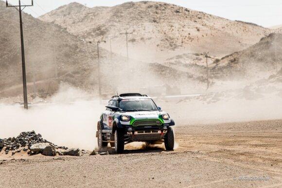 Oficialu: 2021 m. Dakaras bus per dvi valstybes