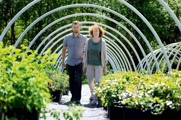Rožių ūkio įkūrėjai: prieš 13 metų neturėjome net svajonių sukurti didelį verslą