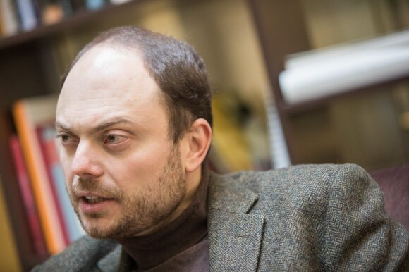 Rusijos opozicionierius: permainos vyksta staiga, turime būti pasiruošę