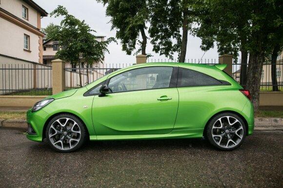 """""""Opel Corsa OPC"""" - maža galios raketa"""