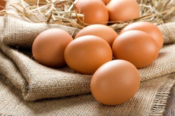 Instrukcija vartotojui: kaip patikrinti, ar kiaušinis šviežias