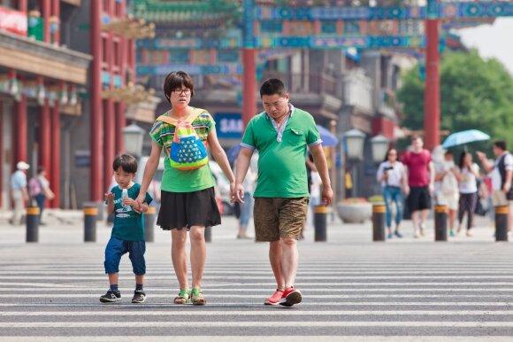 Kinijos vieno vaiko politika lėmė senstančią populiaciją