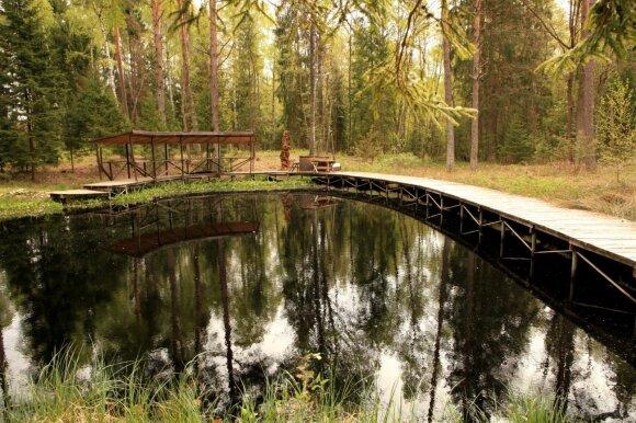 Prie Trakų įrengtas parkas pranoko lūkesčius: važiuodamas į šią vietą tikėjausi liūdnesnio vaizdelio