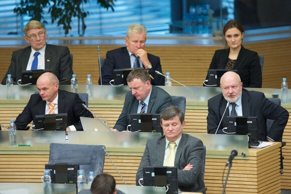 Liberal MPs in the Seimas