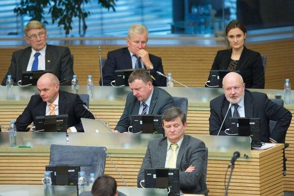 Liberal MPs in the Seimas