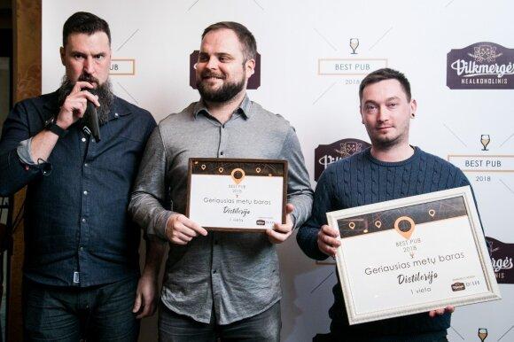 BEST PUB apdovanojimai