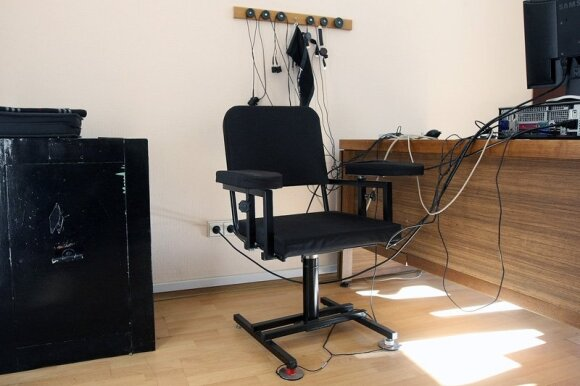 Poligrafo kėdė