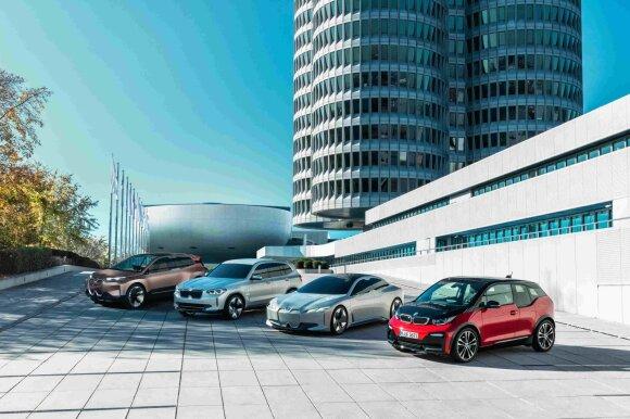 Elektriniai BMW modeliai