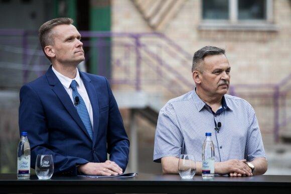 Virginijus Kulikauskas, Viktoras Davidenko