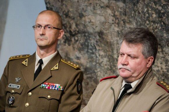 AOTD vadas plk. Remigijus Baltrėnas, Kariuomenės vadas, generolas leitenantas Jonas Vytautas Žukas