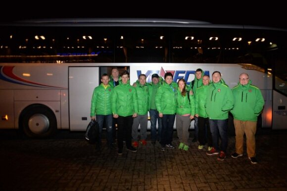 Iš Sočio grįžo Lietuvos olimpinė delegacija