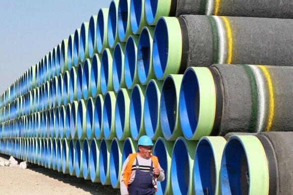 """JAV valstybės sekretorius: padarysime viską, kad """"Nord Stream 2"""" nebūtų paleistas"""