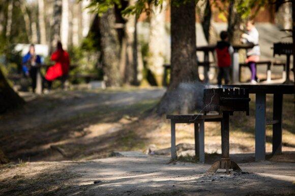 Nuostabiai šiltą dieną gamtoje – vilniečių patikra: ar tikrai išlaikysime Velykų testą?