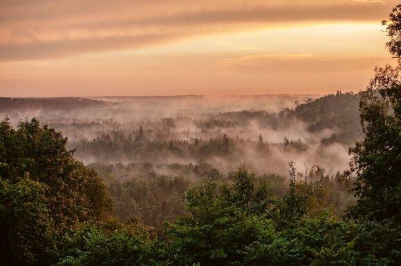 Dienos maršrutas Latvijos Šveicarija vadinamame Gaujos nacionaliniame parke